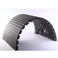 Semi flexible LED tile