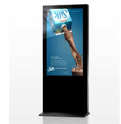 freestanding digital         posters