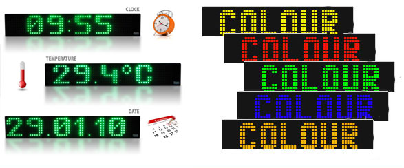 single-colour-led-signs | single-colour-led-displays