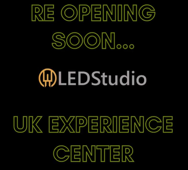 LED Showroom and Tech Facility Re-opening